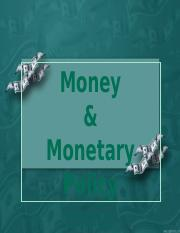 Money and Monetary Policy.pptx