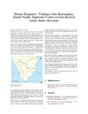 Water Disputes_ Violence hits Karnataka, Tamil Nadu; Supreme Court revises Kaveri water share decisi