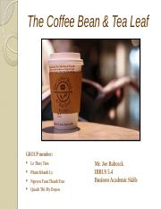 The Coffee Bean & Tea Leaf POWERPOINT.pptx