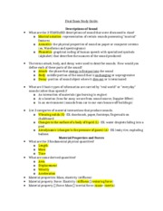 Final Exam Study Guide SLHS 267