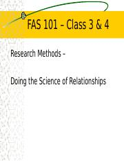 17 FALL FAS 101 Class 3 & 4 Slides Research for Students.ppt