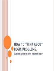 Think_Logic_problems