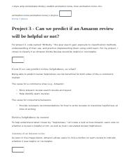 Project 3 - Can we predict if an Amazon review will be helpful or not_.html