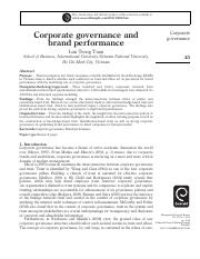 Corporate governance and brand performance.pdf