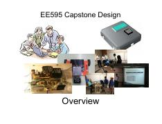 Overview Of EE-595