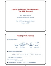 lec8handout2pp_Floating_Point