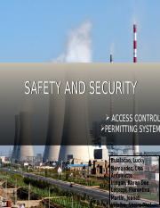 SAFETY AND SECURITY final.ppt