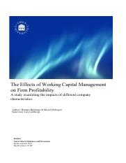 9. The Effects of Working Capital Management on firms profitability.pdf