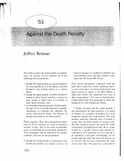 Reiman - Against the Death Penalty.pdf
