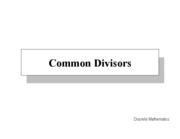 31a-Common-Divisors