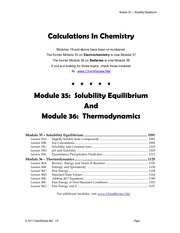Chem35-36KspThermo