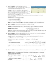 Chapter 25 Homework Solution on University Physics II