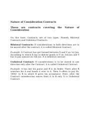 Nature of Consideration Contracts.docx