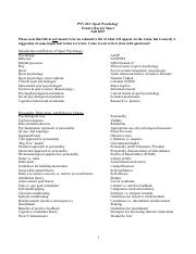 Sport Psychology Exam 1 Review Sheet Fall 2015.pdf