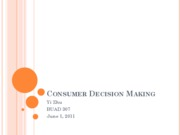 BUAD307_L4_Consumer Behavior