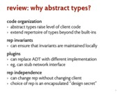 abstract types notes