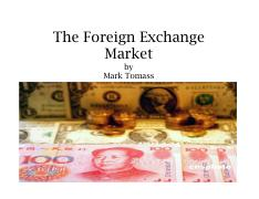 Tomass - 3. Foreign Exchange Rgimes