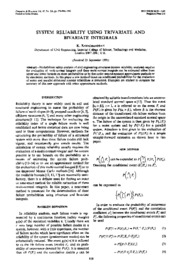 1992_system reliability using trivariate and bivariate integrals_Ramachandran
