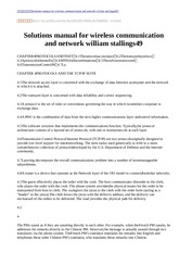 Solutions manual for wireless communication and network william stallings49-14
