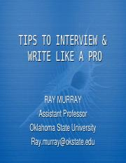 Murray_Interview_Write_Tips