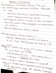 Media and Violence Class Notes