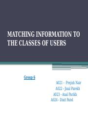 Chap.14 Matching Information of the Classes of Users.pptx