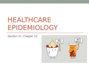 12 Healthcare Epidemiology.ppt