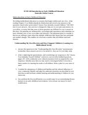 Multiculturalism in Early Childhood (1).docx