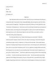 Kelsey Peterson's Definition Essay