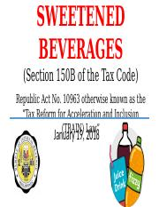 6.  TRAIN Sweetened Beverages_ 01-18-2018.pptx