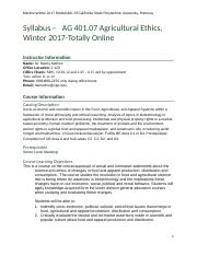 RedAG401.07Winter 2017 syllabus.docx