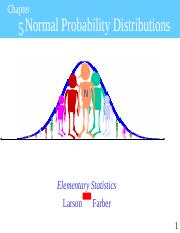 Chapter 5 Normal Probability__ Distributions Statistics .ppt