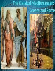 Ch 4 - Greece and Rome
