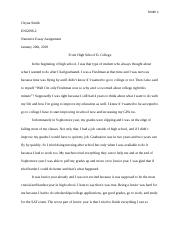 Chyna Smith ENG098-2 Narrative Essay Assignment.docx