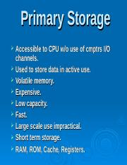 Storage Devices PRIMARY & SECONDARY.ppt