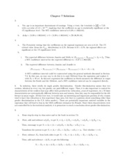 Chapter 7 Solutions