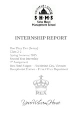 2nd Internship 1st Report