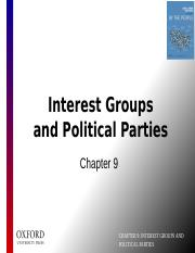 CH 09B - Interest Groups and Political Parties.pptx