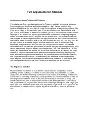 Two Arguments for Atheism.pdf