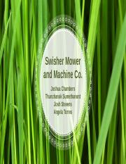 Swisher Mower Group Presentation Final