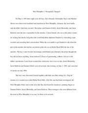 Week 6 First 3 Pages of Final Essay