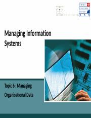 SBS-MIS-Ch_6_Managing Organisational Data.ppt