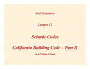 SD-Lecture12-Seismic-Codes-II