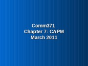 Chap 7 CAPM Students1
