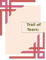 Trail of tears.docx