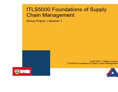 ITLS5000 Group Project - Session 1