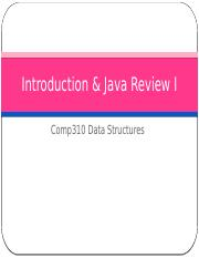 Lecture  1a  Intro & Java Review I.pptx