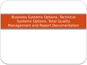 Business Systems Options, Technical Systems Options,.pptx