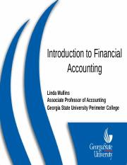 Introduction to Financial Accounting PP1