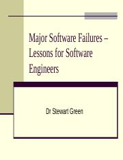 Software Disasters.ppt